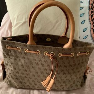 Dooney & Bourke Tassel Tote Satchel
